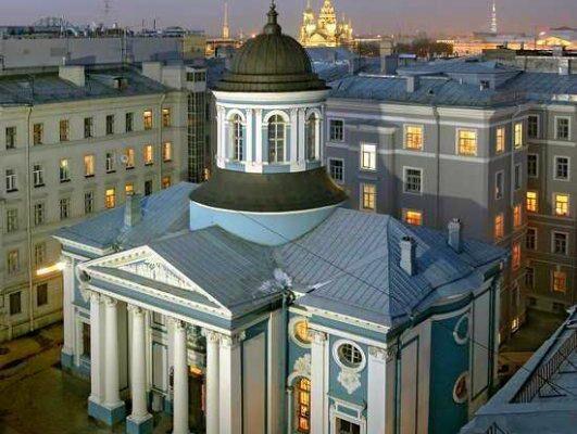 St. Catherine's Armenian Church, Saint Petersburg, Russia.