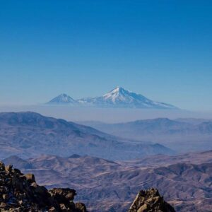 View of Ararat from Mount Amulsar.
