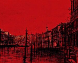 The Grand Canal. Venice. 1975.