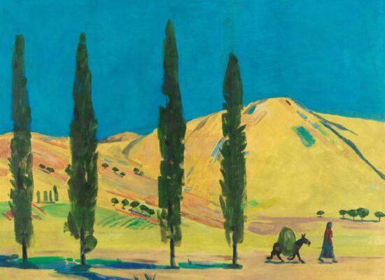 Landscape, Saryan