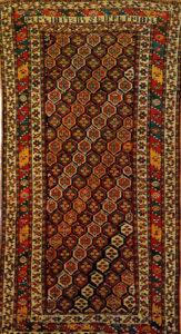 """Armenian Rug with inscription """"1879 OCTOBER 18"""", Gansakh, 1879"""