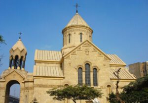 The Armenian Orthodox Patriarchate and St. Gregory The Illuminator Armenian Apostolic Church in Cairo
