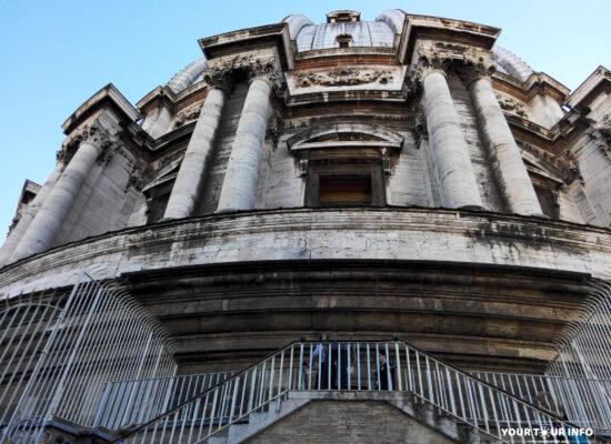 Dome of Saint Peter's Basilica (exterior).