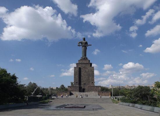Mother Armenia Monument.