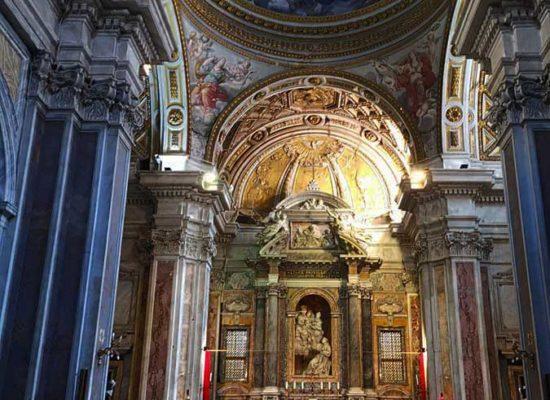 Inside, San Nicola da Tolentino, Interior