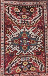 Armenian Kazak Rug, 1879
