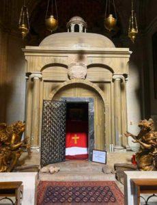 In the San Nicola da Tolentino