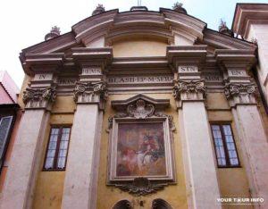 San Biagio degli Armeni, facade