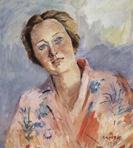 Ballerina Galina Ulanova, 1940