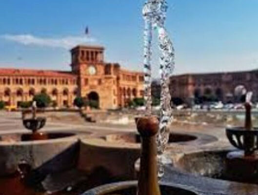 Drinking Fountains, Republic Square.