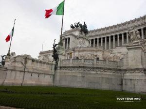 The Vittorio Emanuele II Monument, Altare della Patria, Vittoriano, Piazza Venezia