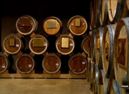 Yerevan Brandy Company, Cognac Barrels