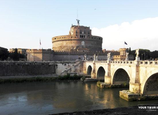 The Mausoleum of Hadrian, Castel Sant Angelo, Rome