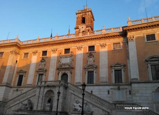 Palazzo Senatorio, Forum, 1573-1605, Piazza del Campidoglio,1