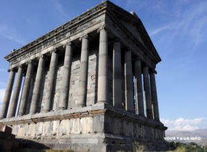 The Temple of Garni, 1st century AD.