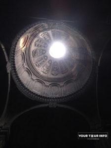 Geghard, Cupola on Arches