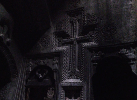 Wall Carvings, Geghard Monastery Complex.