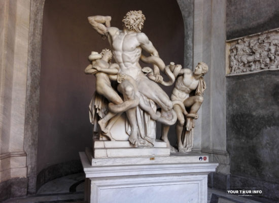 The Statue of Laocoön and His Sons, Vatican