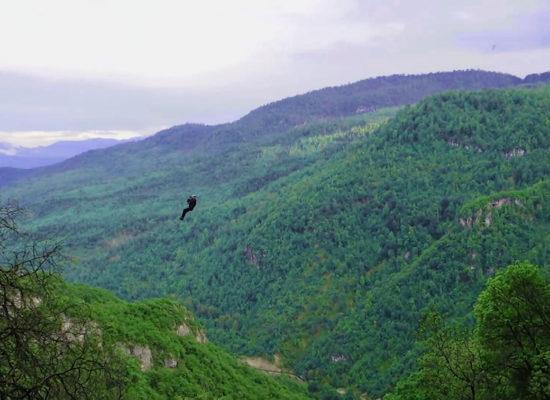 Lastiver - Zipline, Yenokavan, Tavush Province.