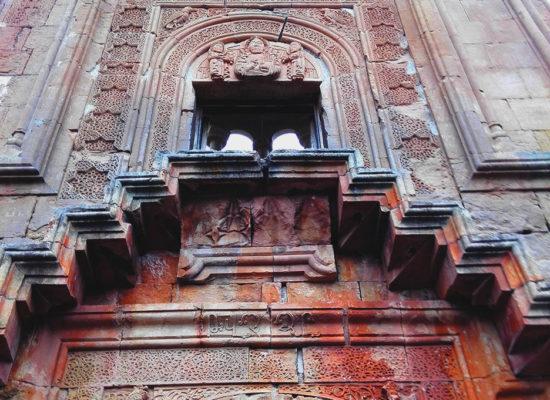 Noravank Monastery Facade. Armenia.