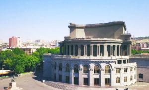 Opera House, Architect - Alexander Tamanyan.