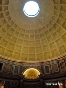 Pantheon, Cupola, 113–125 AD.