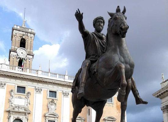 Marcus Aurelius, Capitoline Hill, Rome