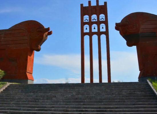 Sardarapat Memorial. Armavir Province. Armenia.