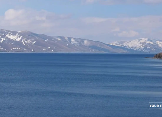 Lake Sevan. Armenia.