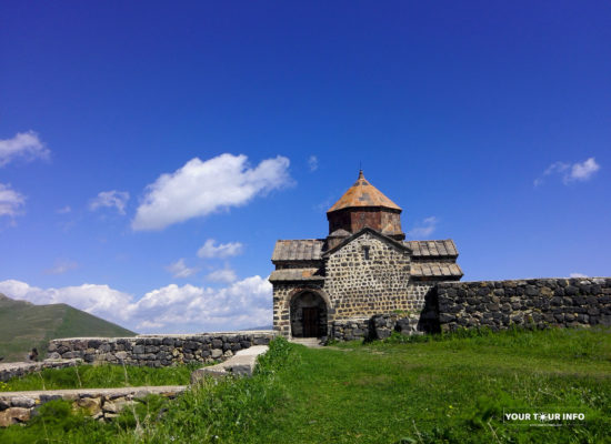 Sevanavank Monastery Complex, 874 AD. Armenia.