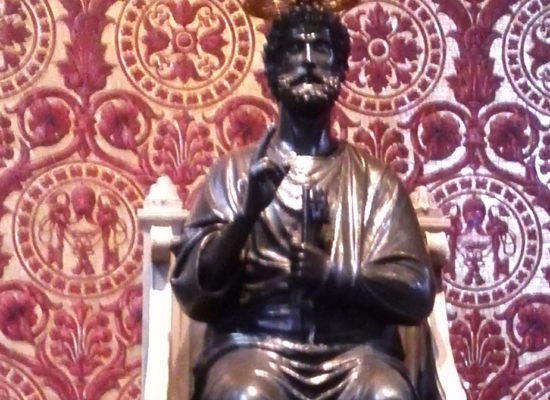 St. Peter Enthroned, St. Peter's Basilica