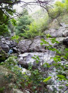 Near Trchkan Waterfall. Armenia.