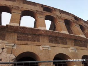The Colosseum, Facade, Rome