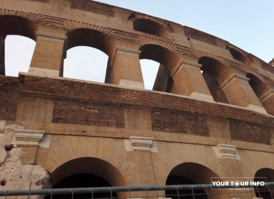 The Colosseum, Facade, Rome