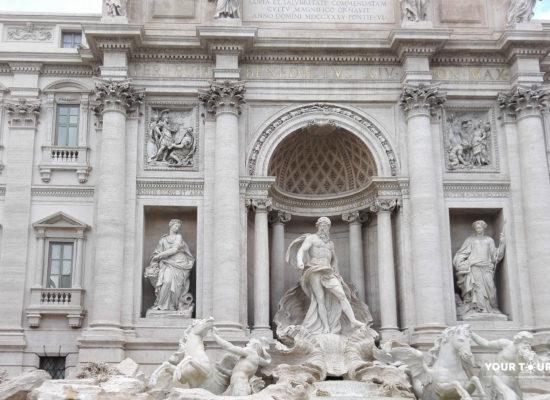 Trevi Fountain, 1732—1762, Piazza di Trevi. Architects: Nicola Salvi, Giuseppe Pannini