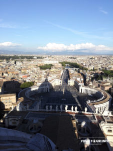 Vatican from Cupola