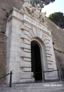 Vatican Museum Entrance.