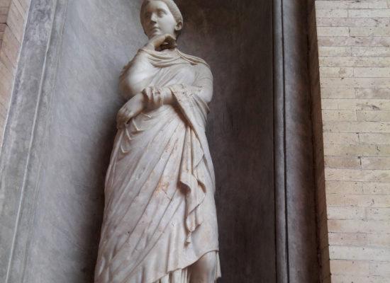Woman Statue, Vatican