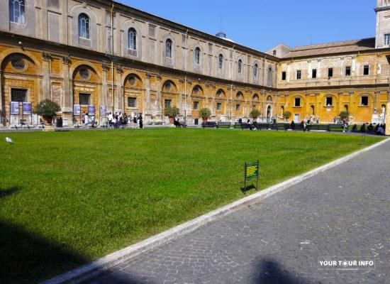 The Cortile del Belvedere, Belvedere Courtyard