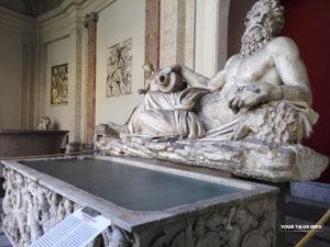 River God (Arno), Pio Clementino Museum.