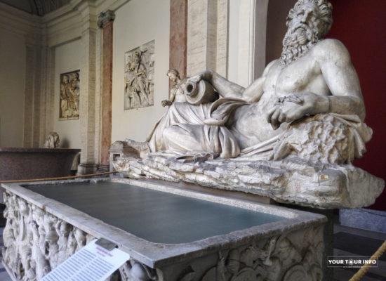 River God (Arno), Pio Clementino Museum