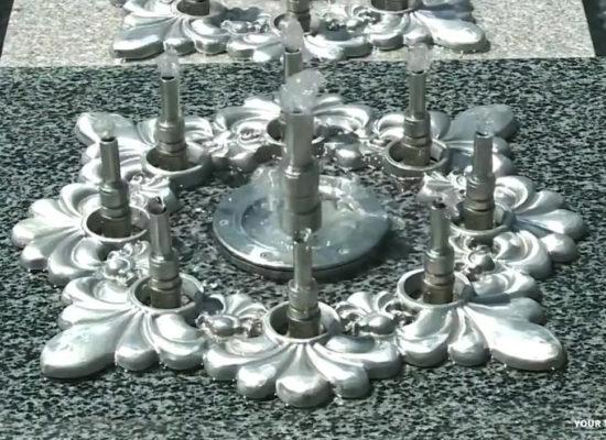 Yerevan 2800th Anniversary Park. Fountains.