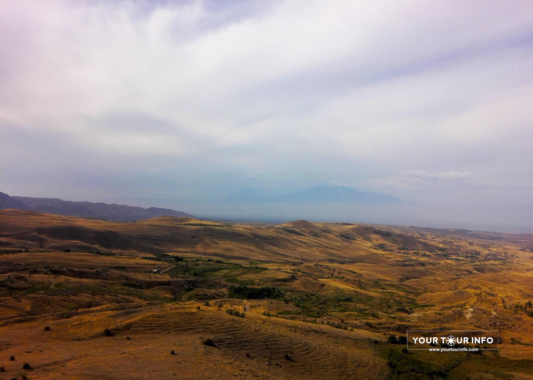 Ararat Mountain from Charents Arch, Armenia