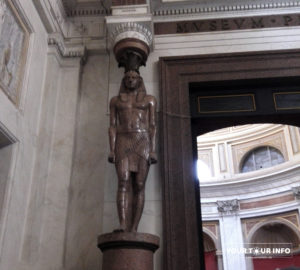 Hall of the Greek Cross, Statues of Antinous