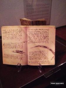 Notebook. Leonardo Da Vinci.