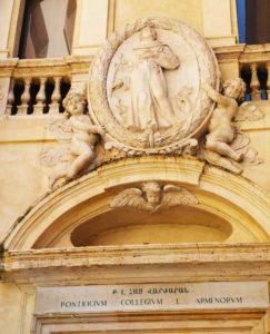 Վարժարան, Facade, San Nicola da Tolentino agli Orti Sallustiani
