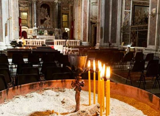 Lighted Candles, San Nicola da Tolentino