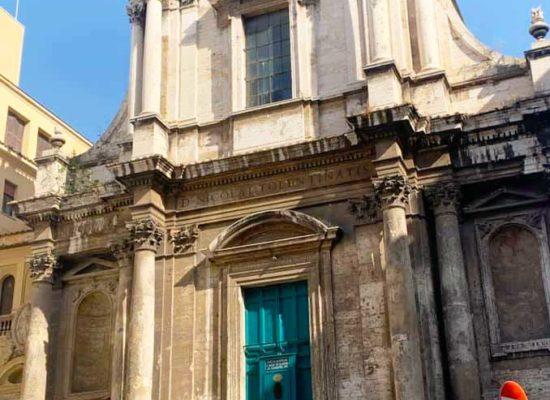 Facade, San Nicola da Tolentino