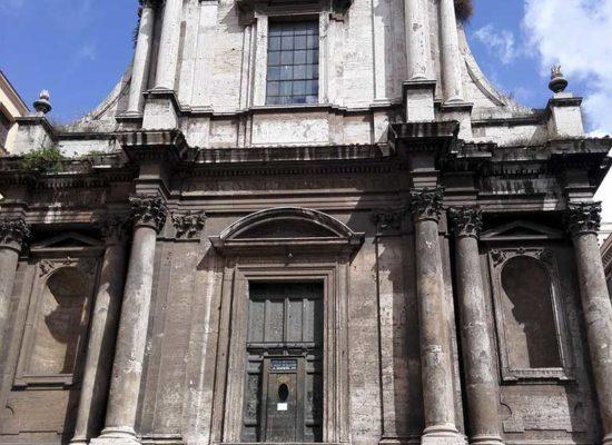 Facade of San Nicola da Tolentino