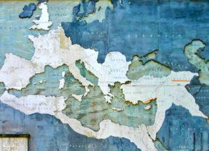 Armenia on the anchient map, Basilica of Maxentius, near Colloseum